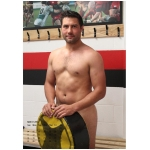 2018 Rugby Helps Our Heroes Nude Charity Calendar (A4 Size)