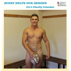 Download: Trailer for 2014 Rugby Helps Our Heroes Calendar
