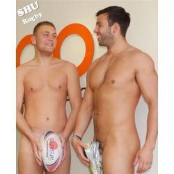 SHU Rugby Nude Calendar 2013 Photo Collection - CD